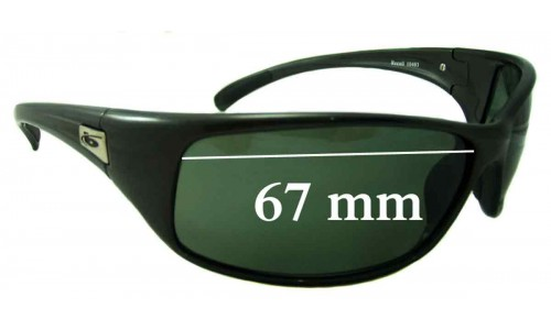 Bolle Recoil 10403 Replacement Sunglass Lenses - 67mm wide