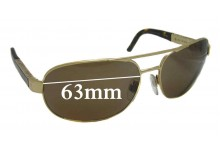 Burberry B 3039 Replacement Sunglass Lenses - 63mm Wide