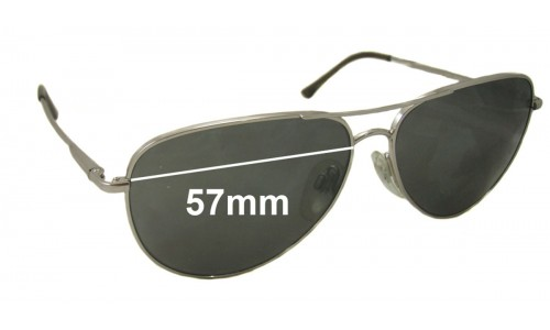Bvlgari 547 Replacement Sunglass Lenses 57mm wide