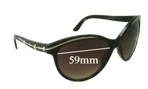 Bvlgari 8088-B Sunglass Replacement Lenses 59mm wide