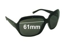 Calvin Klein 3075s Replacement Sunglass Lenses - 61mm wide