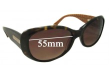 Coach Kendall S438 Replacement Sunglass Lenses 55mm wide
