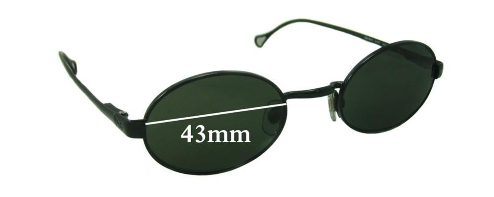 Dolce & Gabbana DG6013 Replacement Sunglass Lenses - 43mm wide