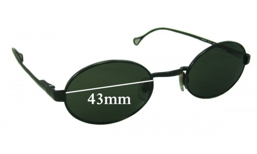 Dolce & Gabbana DG6013 New Sunglass Lenses - 43mm wide
