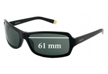 DKNY DY4003 Replacement Sunglass Lenses- 61mm Wide