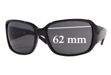 DKNY DY4027 Replacement Sunglass Lenses -62mm Wide