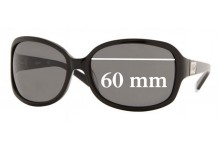DKNY DY4039 Replacement Sunglass Lenses- 60mm Wide