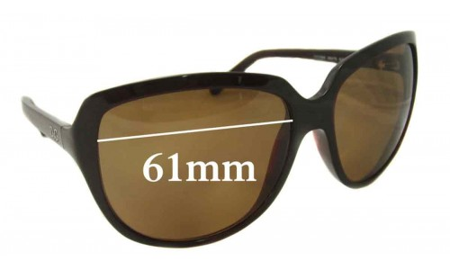Dolce & Gabbana DG8069 Replacement Sunglass Lenses - 61mm Wide