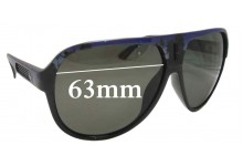 Sunglass Fix New Replacement Lenses for Dragon Experience - 63mm Wide