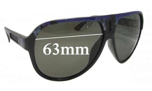 Dragon Experience Replacement Sunglass Lenses - 63mm Wide
