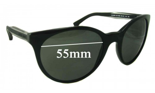 Emporio Armani EA4003 Replacement Sunglass Lenses - 55mm Wide