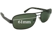 Gant GS Fekke Replacement Sunglass Lenses - 61mm Wide