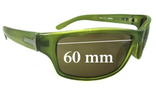 Gensis P4311-313 New Sunglass Lenses - 60mm Wide