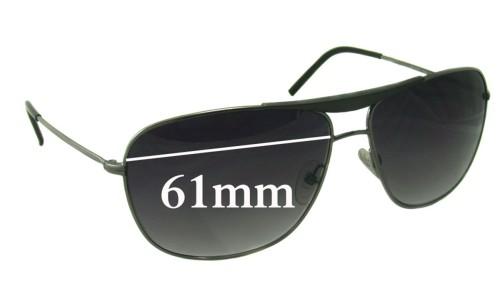 Giorgio Armani GA 886/S Replacement Sunglass Lenses - 61mm wide