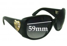 Gucci 3058 Replacement Sunglass Lenses - 59mm wide