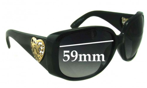 Sunglass Fix Replacement Lenses for Gucci 3067/F/S - 59mm wide