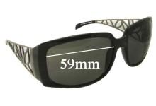 Guess GU6334 Replacement Sunglass Lenses - 59mm wide