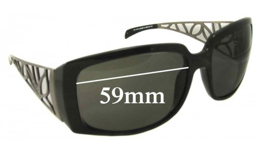 Guess GU6334 Replacement Sunglass Lenses - 59mm wide
