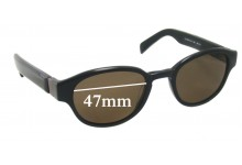 Lanvin LV 3149 Sunglass Replacement Lenses - 47mm wide