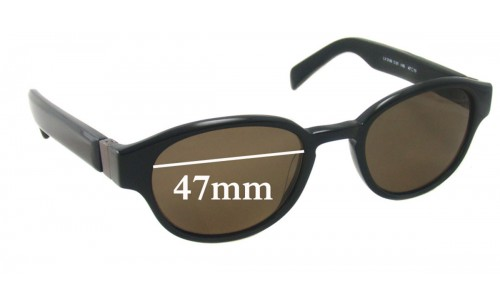 Lanvin LV 3149 Sunglass Replacement Lenses - 47mm wide