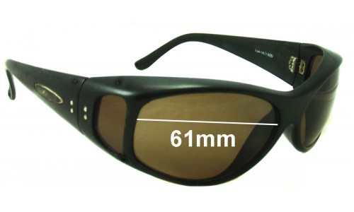 Mako Lure 9477 Replacement Sunglass Lenses - 61mm wide - Sides not Included