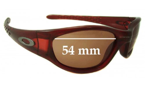 Oakley Ten Old Replacement Sunglass Lenses - 54mm wide