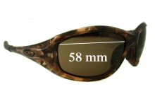Oakley Encounter Replacement Sunglass Lenses - 58mm wide