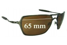Oakley Inmate Replacement Sunglass Lenses - 65mm Wide