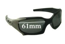 Oakley Pitboss Replacement Sunglass Lenses - 61mm wide