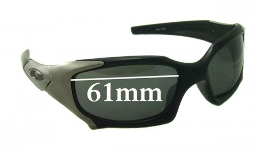 Oakley Pitboss Replacement Sunglass Lenses - 61mm wide
