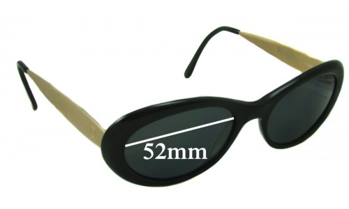 Oroton Unknown Replacement Sunglass Lenses - 52mm Wide