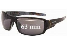 Sunglass Fix New Replacement Lenses for OZZIE OZ19:63 - 63mm Wide