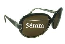 Paul & Joe Replacement Sunglass Lenses -58mm Wide