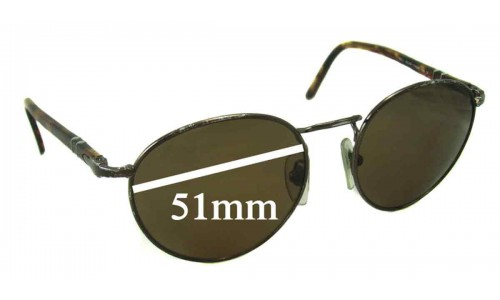 Persol 2388-S New Sunglass Lenses - 51mm Wide