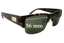 Prada SPR11M Replacement Sunglass Lenses - 56mm Wide