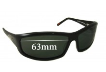 R.M. Williams PA701 Replacement Sunglass Lenses - 63mm wide