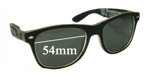 2bf35ffe53 Ray Ban Wayfarer 54mm Replacement Lenses