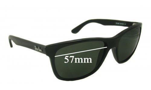 Ray Ban RB4181 Replacement Sunglass Lenses - 57mm wide lenses