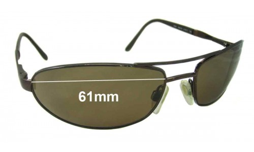 Revo 3035 Replacement Sunglass Lenses - 61mm wide