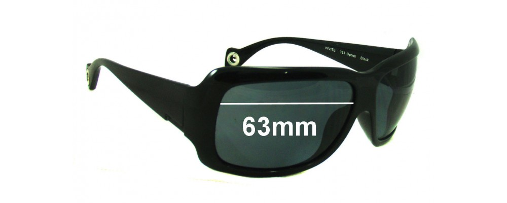 e0c001a31af Smith Invite Replacement Lenses - 63mm wide