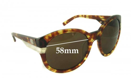 Sabre Acid Aloha New Sunglass Lenses - 58mm Wide