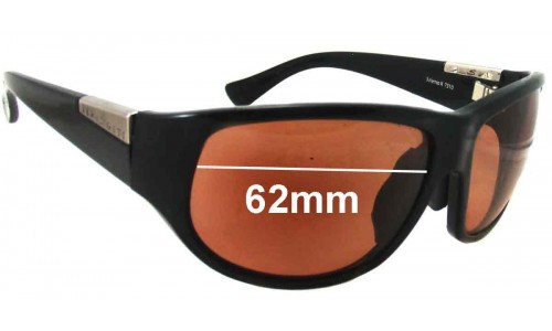 Sunglass Fix Replacement Lenses for Serengeti Salerno II 7310 7311 7312 7235 7236 -  62mm wide