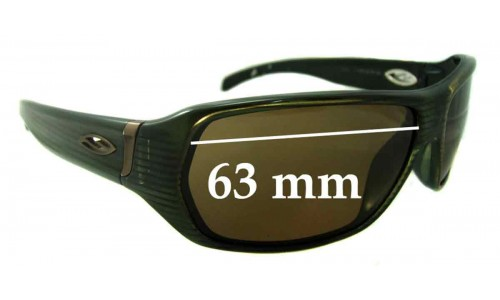 Smith Chemical Stripe Replacement Sunglass Lenses - 63mm wide