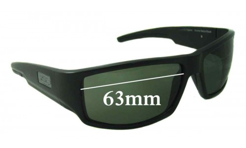 Smith Lockwood Replacement Sunglass Lenses 63mm wide