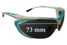 Specialized Team Tarzo Replacement Sunglass Lenses - 73mm wide