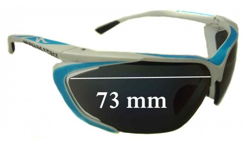 Sunglass Fix Replacement Lenses for Specialized Team Tarzo - 73mm wide