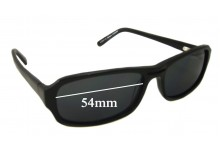 Spec Savers Clement Replacement Sunglass Lenses 54mm wide