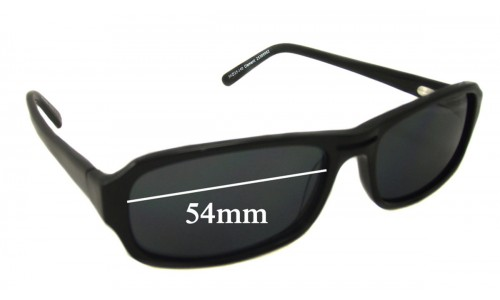 Spec Savers Clement New Sunglass Lenses 54mm wide