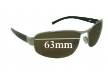 Spotters Crave Replacement Sunglass Lenses - 63mm wide
