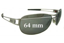 Tag Heuer Speedway Replacement Sunglass Lenses 64mm Wide